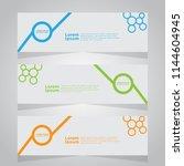 vector abstract banner design... | Shutterstock .eps vector #1144604945