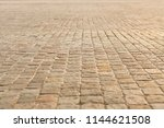 roadway the street is paved... | Shutterstock . vector #1144621508