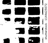 abstract monochrome grunge...   Shutterstock .eps vector #1144625072
