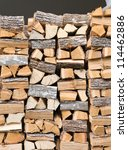 Firewood Texture  After The...