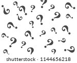 question mark pattern. question ... | Shutterstock .eps vector #1144656218