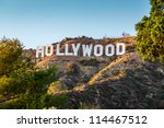 hollywood california  ... | Shutterstock . vector #114467512