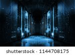 technological background on... | Shutterstock . vector #1144708175