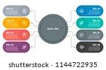 circular infographic design... | Shutterstock .eps vector #1144722935
