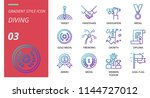 success icon pack gradient... | Shutterstock .eps vector #1144727012