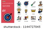 success icon pack filled... | Shutterstock .eps vector #1144727045