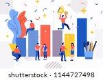 illustrations design concept...   Shutterstock .eps vector #1144727498