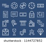 set of 20 icons such as diamond ...