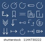 set of 20 icons such as stretch ...