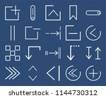 set of 20 icons such as plus ...