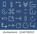 set of 20 icons such as shrink  ...