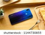 huawei nova 3i iris purple...   Shutterstock . vector #1144730855