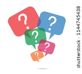 question mark icon | Shutterstock .eps vector #1144745438