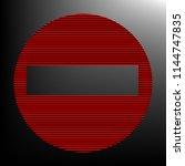 road signs illustration. vector....   Shutterstock .eps vector #1144747835