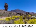 Roque Cinchado And Peak Of...
