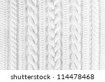 Small photo of knitted fabric texture