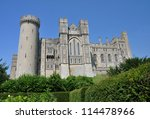 Arundel Castle Is A Restored...