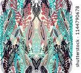 seamless ornamental vector... | Shutterstock .eps vector #1144790678