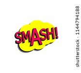comic speech bubble with... | Shutterstock . vector #1144794188