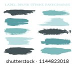 trendy label brush stroke... | Shutterstock .eps vector #1144823018