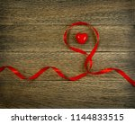 romantic valentines day red... | Shutterstock . vector #1144833515
