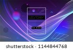 geometric abstract background... | Shutterstock .eps vector #1144844768