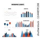 annual report visualisation... | Shutterstock .eps vector #1144859138