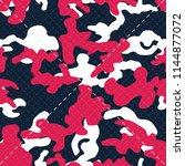 seamless textured diagonal... | Shutterstock .eps vector #1144877072