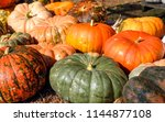 Pumpkins Different Sizes And...