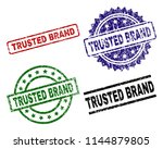trusted brand seal prints with... | Shutterstock .eps vector #1144879805