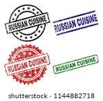 russian cuisine seal prints...   Shutterstock .eps vector #1144882718