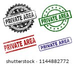private area seal prints with... | Shutterstock .eps vector #1144882772