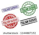 italian cuisine seal prints...   Shutterstock .eps vector #1144887152