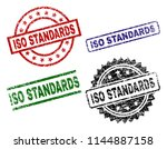 iso standards seal prints with... | Shutterstock .eps vector #1144887158