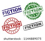fiction seal prints with... | Shutterstock .eps vector #1144889075