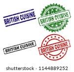 british cuisine seal prints...   Shutterstock .eps vector #1144889252