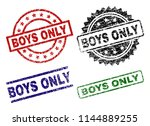 Boys Only Seal Imprints With...