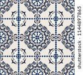 talavera pattern.  azulejos...   Shutterstock .eps vector #1144897865