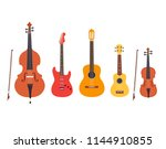 string musical instruments... | Shutterstock .eps vector #1144910855