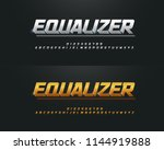 elegant silver and golden... | Shutterstock .eps vector #1144919888
