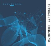 big data visualization... | Shutterstock .eps vector #1144956848