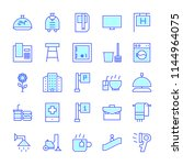 hotel icons in for any purposes.... | Shutterstock .eps vector #1144964075