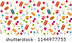 rosh hashanah jewish new year... | Shutterstock .eps vector #1144977755