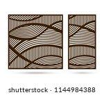 design panel for wall interior... | Shutterstock .eps vector #1144984388