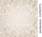 seamless floral pattern | Shutterstock .eps vector #114502972