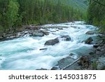 River For Rafting. River With...