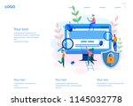 concept application testing ... | Shutterstock .eps vector #1145032778