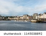 cherbourg  france   may 22 ... | Shutterstock . vector #1145038892