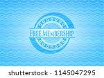 free membership light blue... | Shutterstock .eps vector #1145047295