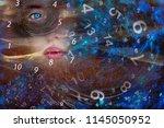 magic world of numerology | Shutterstock . vector #1145050952
